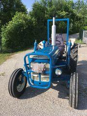 Schmalspurtraktor Fordson Super Dexta Oldtimer