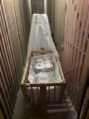 Baby Schaukel Bett mit Himmel