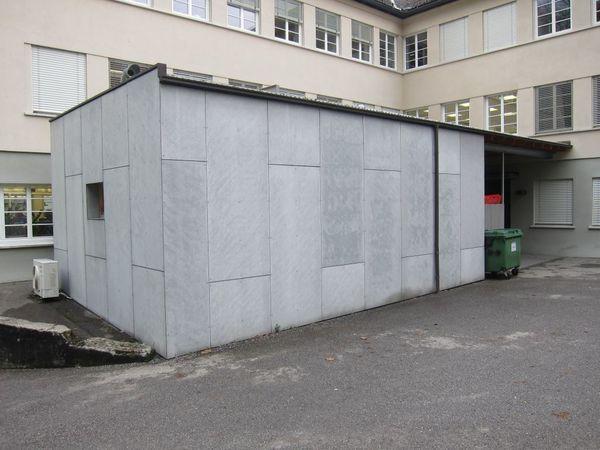 Haus Gebäude Prüfstand 43qm Lagerhalle