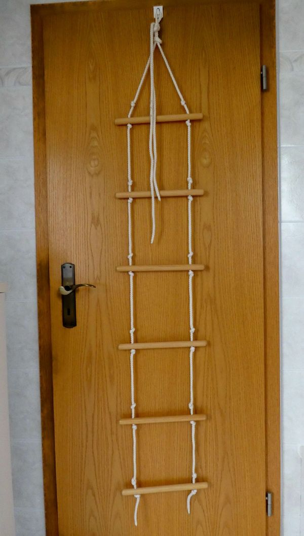Strickleiter 6 Sprossen NEU