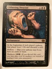 Magic the gathering gibbering descent
