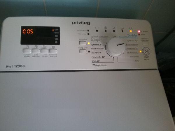 Privileg Waschmaschine Toplader 6 Monate