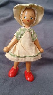 Vintage - Mid Century - kleines Püppchen
