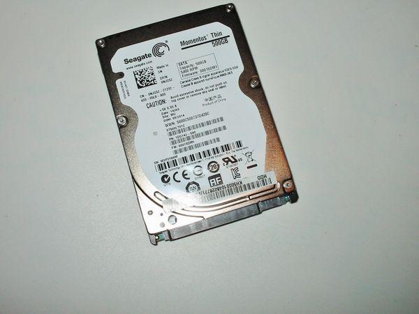 500GB Festplatte HDD SEAGATE MOMENTUS