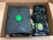 Xbox Konsole komplett 4 Spiele