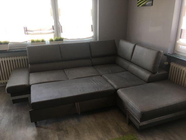 Eck-Couch Cordoba Anthrazit neuwertig