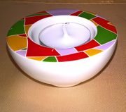 Porzellan-Kerzenhalter Teelichthalter