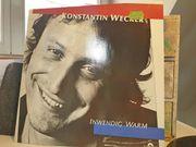 LP- Konstantin Wecker - Inwenig Warm -