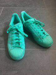 Adidas Superstar neongrün Gr 42