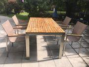 Gartenmöbel 1 Tisch 4 Stühle