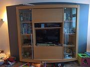 Wohnzimmer Schrank groß mit Vitrinen