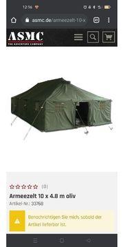 Bundeswehr Zelt zu verkaufen