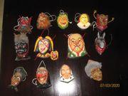 Kleine Hexenmasken