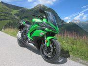 Kawasaki Z1000SX Bj 2017 grün