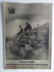 Deutsche Kriegsopferversorgung Juni Juli 1942