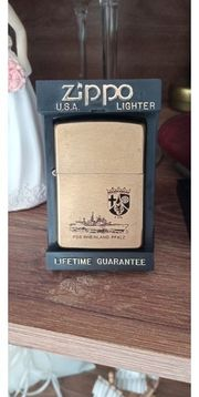 zippo solid Brass Messing 3
