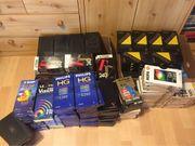 Verschiedene VHS Videokassetten E 240