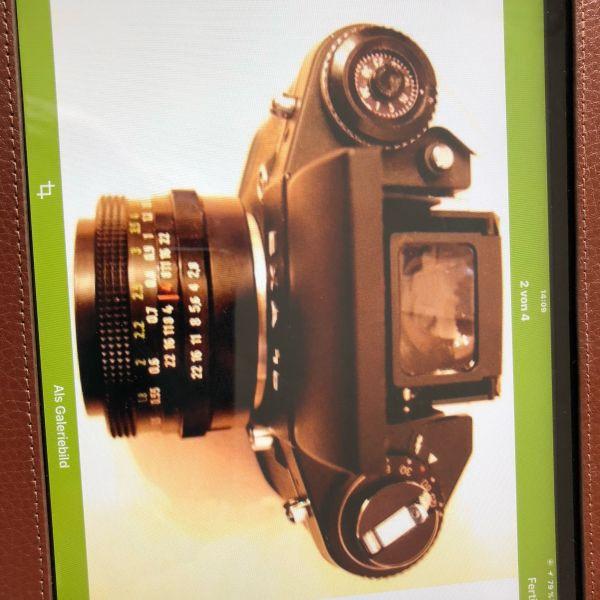 Spiegel -Reflex Kamera