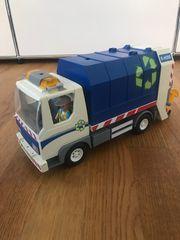 Playmobil 4129 - Recycling-Fahrzeug mit Blinklicht