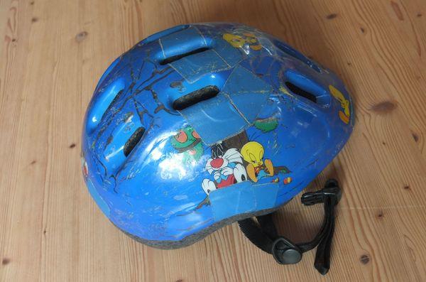 Kinder-Fahrradhelm Sylvester Tweety