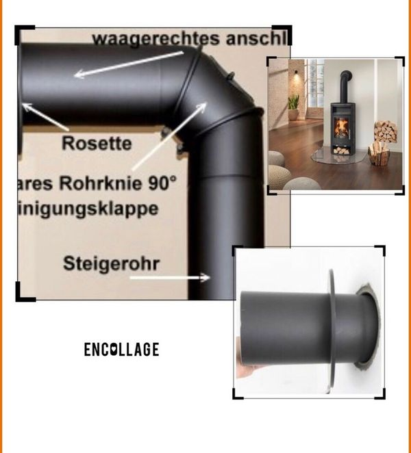 Kaminofen Anschluss Montage Service