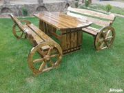 Pferdekutsche gartenmöbel Tisch Bank Terrassenmöbel