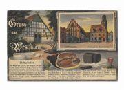 Postkarte Dortmund NRW 1923