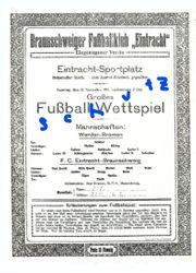 Eintracht Braunschweig - Wettspiel