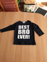 Pullover Jungs Größe 92 schwarz