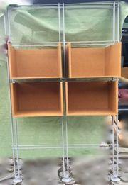 Regal aus wunderschönen Cubes Würfeln