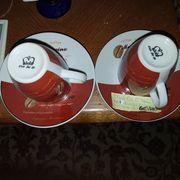 2 Espresso Tassen sets 2