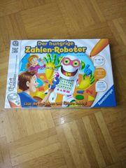 Neu tiptoi Spiel Zahlen-Roboter original