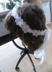 Haarkranz mit Haarbändern mit vielen