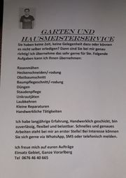 Gartenarbeit und Hausmeisterservice
