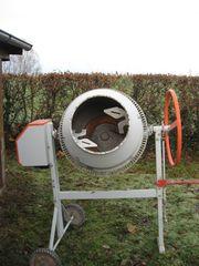 Betonmaschine 230 V neuwertig