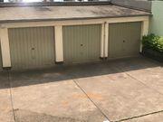 Sichere abgeschlossene Garage Mitten in