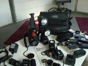Vhs Camera mit sehr viel