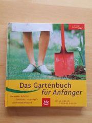 Das Gartenbuch für Anfänger neu