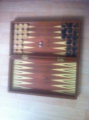 Holzspiel Backgammon