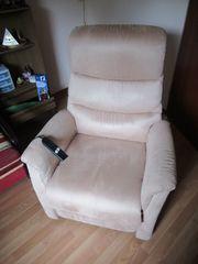 Relaxstuhl TV Sessel m Aufstehhilfe