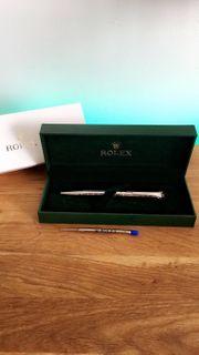Rolex Kugelschreiber SILBER NEU OVP