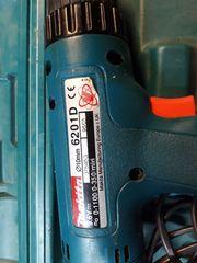 MAKITA 6201D Akkuschrauber DC1201Ladergerät im