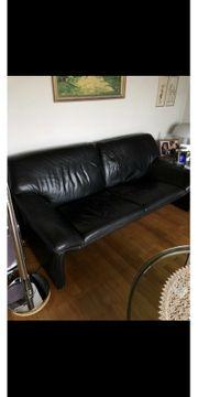 Ledercouch 2-Sitzer 3-Sitzer und Sessel
