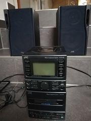 Cd- und Kasetten- Compact Anlage JVC