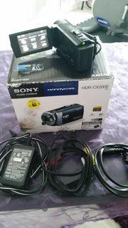 Sony Handycam HDR-CX200E