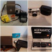 Alte Fotoapparate und Kameras