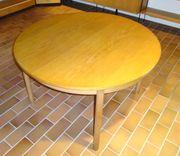 Esstisch Holztisch ausziehbar rund 120