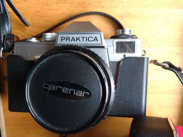 Tolles Weihnachtsgeschenk - Praktica SL - Spiegelreflexkamera -