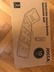 Massagematte mit Wärmefunktion Originalverpackt - schwarz -