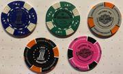 Harley Davidson Poker Chips Dealer